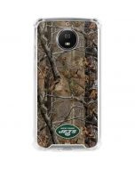 New York Jets Realtree AP Camo Moto G5S Plus Clear Case