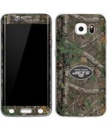 New York Jets Realtree Xtra Green Camo Galaxy S6 Edge Skin