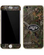 New York Jets Realtree Xtra Green Camo iPhone 6/6s Skin