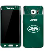 New York Jets Team Jersey Galaxy S6 Edge Skin