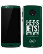 New York Jets Team Motto Moto G6 Skin