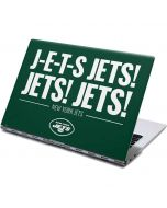 New York Jets Team Motto Yoga 910 2-in-1 14in Touch-Screen Skin
