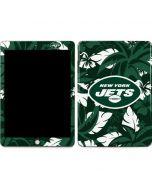 New York Jets Tropical Print Apple iPad Skin