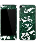 New York Jets Tropical Print Apple iPod Skin