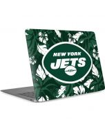 New York Jets Tropical Print Apple MacBook Air Skin