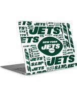 New York Jets White Blast Apple MacBook Air Skin