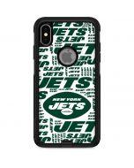 New York Jets White Blast Otterbox Commuter iPhone Skin
