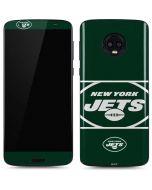 New York Jets Zone Block Moto G6 Skin