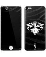 New York Knicks Black Animal Print Apple iPod Skin