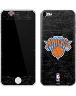 New York Knicks Black Secondary Logo Apple iPod Skin