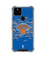 New York Knicks Blast Google Pixel 5 Clear Case
