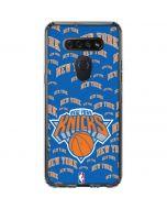 New York Knicks Blast LG K51/Q51 Clear Case