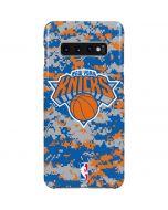 New York Knicks Digi Camo Galaxy S10 Plus Lite Case