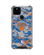 New York Knicks Digi Camo Google Pixel 5 Clear Case