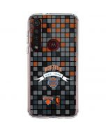 New York Knicks Digi Moto G8 Plus Clear Case
