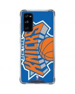 New York Knicks Large Logo Galaxy S20 FE Clear Case