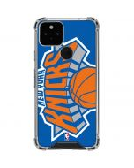 New York Knicks Large Logo Google Pixel 5 Clear Case