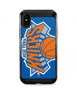 New York Knicks Large Logo iPhone XS Max Cargo Case