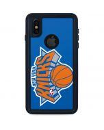 New York Knicks Large Logo iPhone XS Waterproof Case