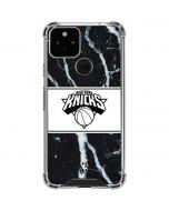 New York Knicks Marble Google Pixel 5 Clear Case