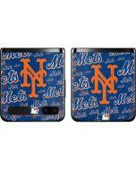 New York Mets - Cap Logo Blast Galaxy Z Flip Skin
