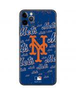 New York Mets - Cap Logo Blast iPhone 11 Pro Max Skin