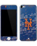 New York Mets - Cap Logo Blast Apple iPod Skin