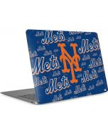 New York Mets - Cap Logo Blast Apple MacBook Air Skin