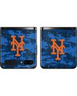 New York Mets Digi Camo Galaxy Z Flip Skin