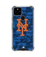 New York Mets Digi Camo Google Pixel 5 Clear Case