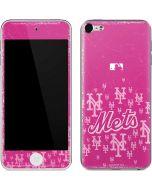 New York Mets Pink Blast Apple iPod Skin