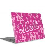 New York Mets Pink Blast Apple MacBook Air Skin