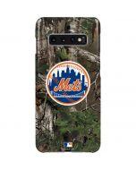 New York Mets Realtree Xtra Green Camo Galaxy S10 Plus Lite Case