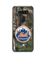 New York Mets Realtree Xtra Green Camo LG K51/Q51 Clear Case