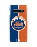 New York Mets Split Galaxy S10 Plus Lite Case
