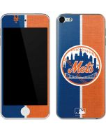 New York Mets Split Apple iPod Skin
