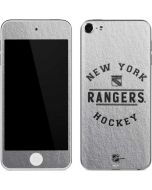 New York Rangers Black Text Apple iPod Skin
