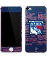 New York Rangers Blast Apple iPod Skin