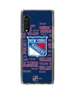 New York Rangers Blast LG Velvet Clear Case
