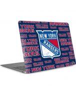 New York Rangers Blast Apple MacBook Air Skin