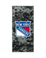 New York Rangers Camo Galaxy Note 10 Skin
