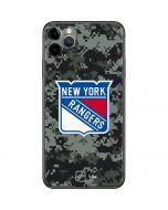 New York Rangers Camo iPhone 11 Pro Max Skin