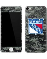 New York Rangers Camo Apple iPod Skin