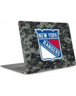 New York Rangers Camo Apple MacBook Air Skin