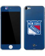 New York Rangers Distressed Apple iPod Skin