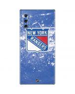 New York Rangers Frozen Galaxy Note 10 Skin