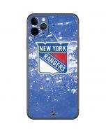 New York Rangers Frozen iPhone 11 Pro Max Skin