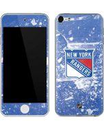 New York Rangers Frozen Apple iPod Skin
