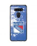 New York Rangers Frozen LG K51/Q51 Clear Case