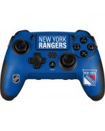 New York Rangers Lineup PlayStation Scuf Vantage 2 Controller Skin